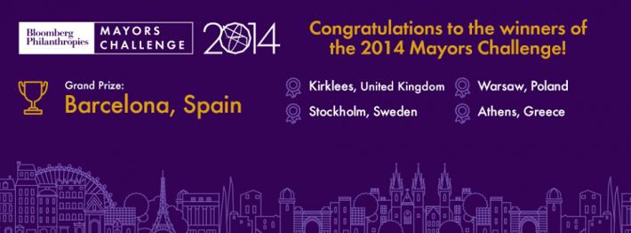 Ευρωπαϊκό Βραβείο Καινοτομίας από το Ίδρυμα Bloomberg στην πλατφόρμα συνΑθηνά