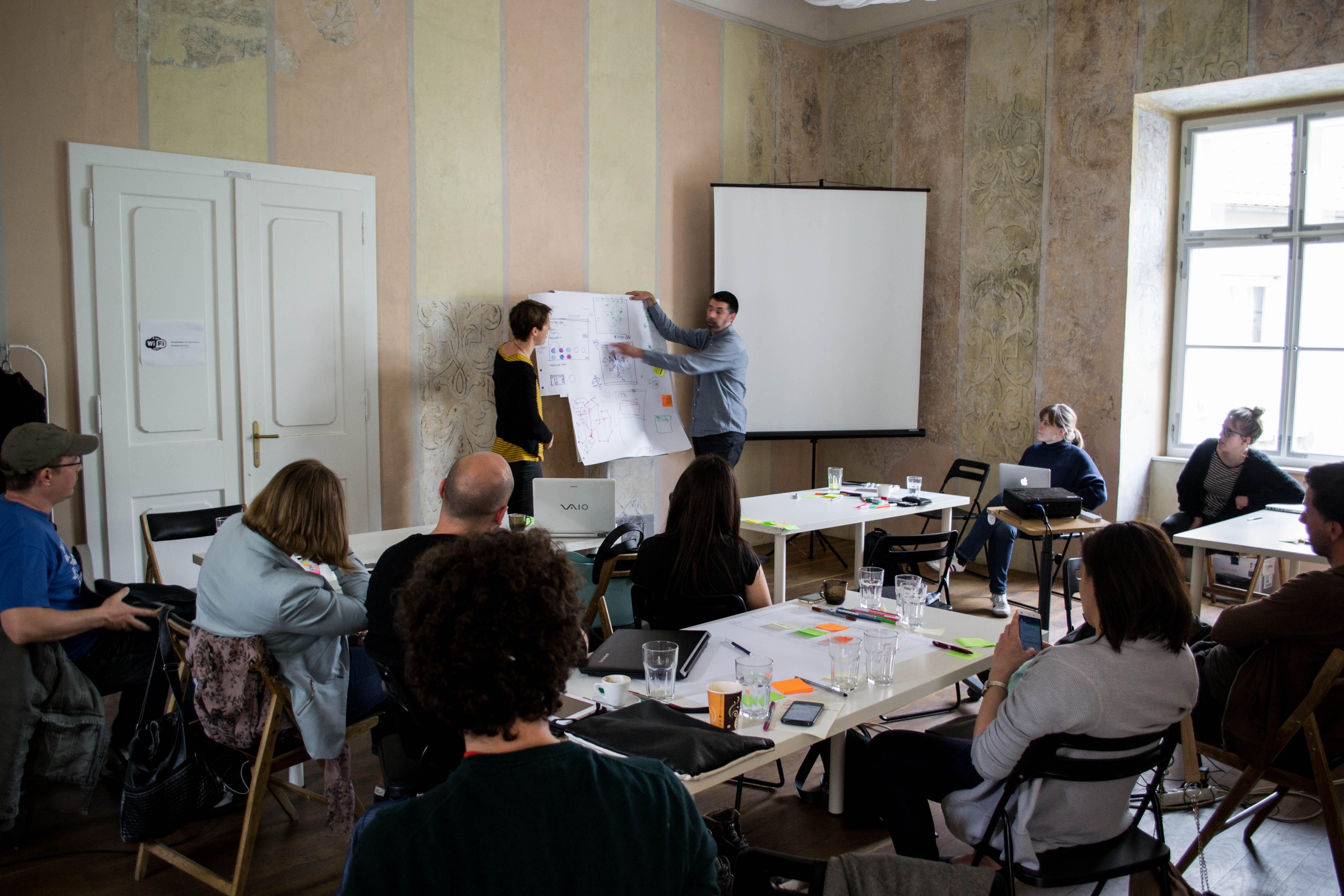 1η Συνάντηση ομάδων Citytoolbox στο Μάριμπορ της Σλοβενίας